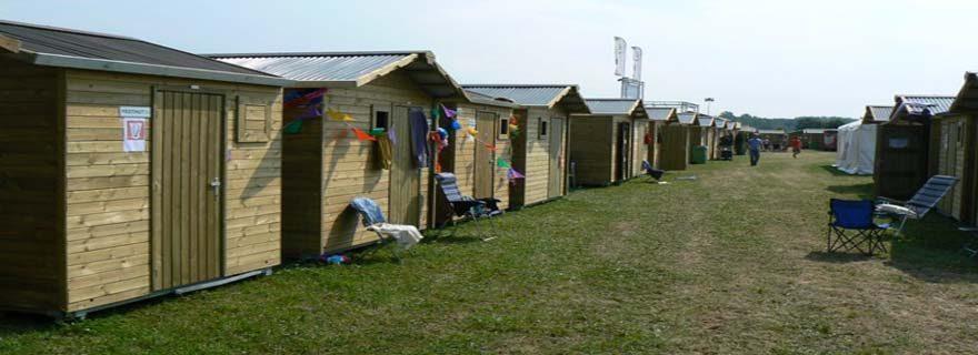 Tribfest Festival Huts